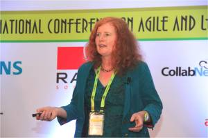 Speaking at AgileIndia2014