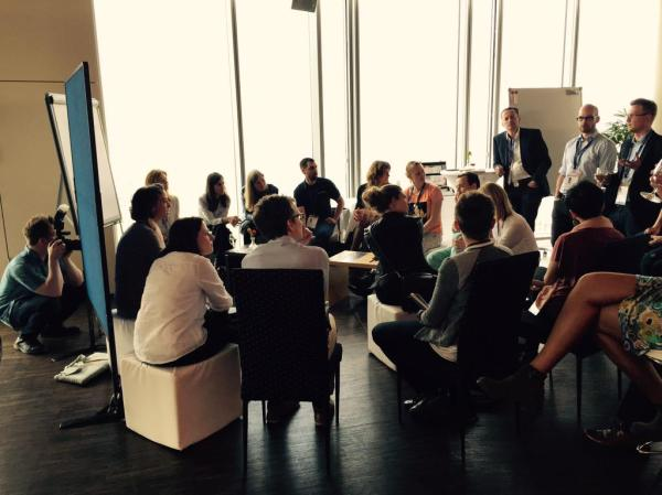 Open Spaces bei der #agilehrconference