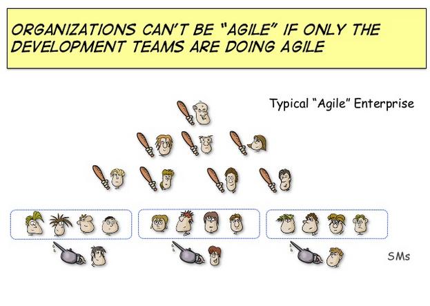"Slide from ""Terraforming Organizations"" by Claudio Perrone."